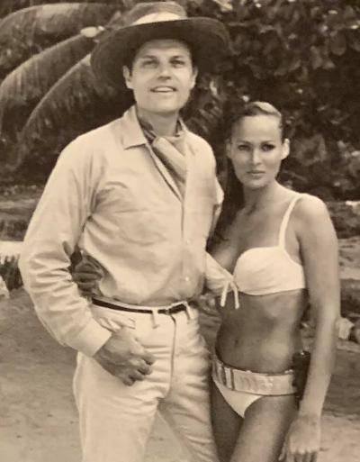 Name:  Dr. No Jack Lord and Ursula Andress.jpg